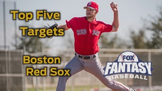 Fantasy Baseball Draft Advice: top five Boston Red Sox