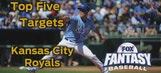 Fantasy Baseball Draft Advice: top five Kansas City Royals