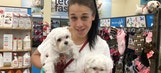Joanna Jedrzejczyk goes shopping with her dogs | PROCast