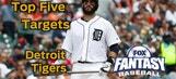 Fantasy Baseball Draft Advice: top five Detroit Tigers