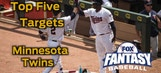 Fantasy Baseball Draft Advice: top five Minnesota Twins