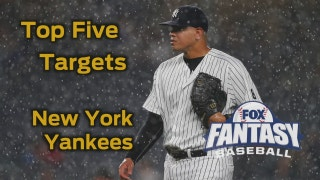 Fantasy Baseball Draft Advice: top five New York Yankees