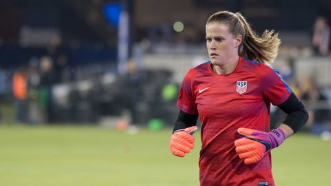 Goalkeeper: Alyssa Naeher