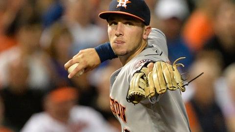Alex Bregman (3B/SS) -- Houston Astros (3/30/94)