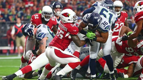 November 9: Seattle Seahawks at Arizona Cardinals, 8:25 p.m. ET