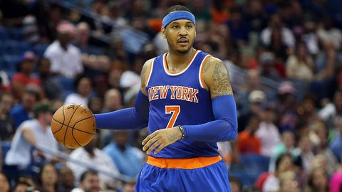 Is it the end of Carmelo's NY  nightmare?