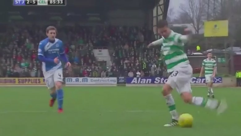 This Celtic passing sequence (with a rabona and backheel flick!) will make you swoon