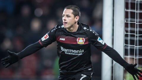 Bayer Leverkusen — Chicharito