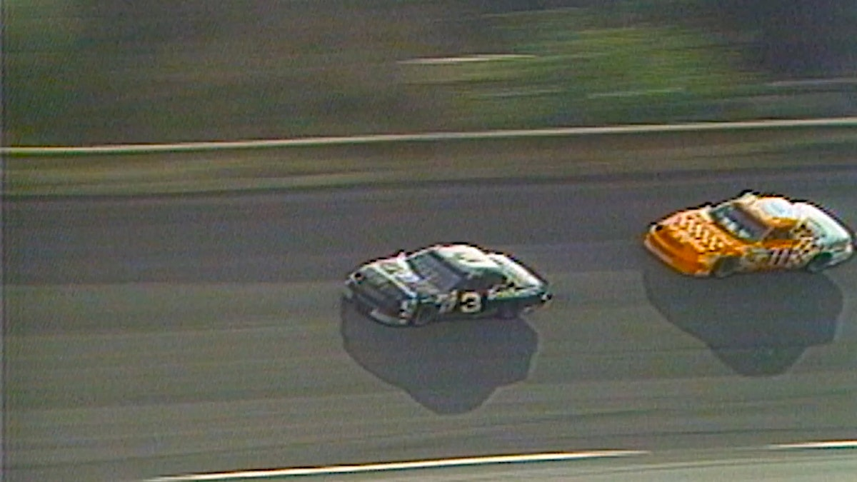 Derrike Cope Makes Last Lap Pass to Win the Daytona 500