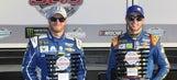 Where all 40 drivers will start the 59th Daytona 500