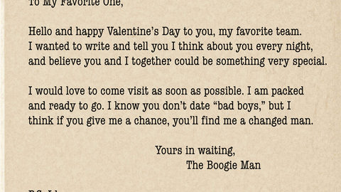 DeMarcus Cousins' Valentine's form letter to 29 NBA teams