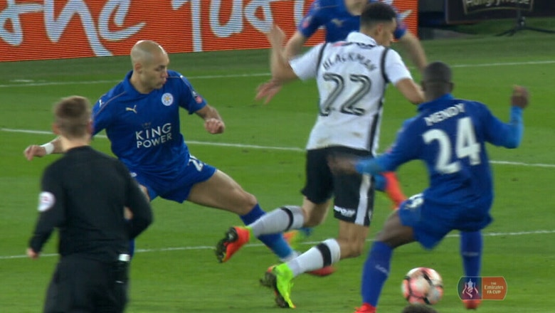 Leicester City vs. Derby County | 2016-17 FA Cup Highlights