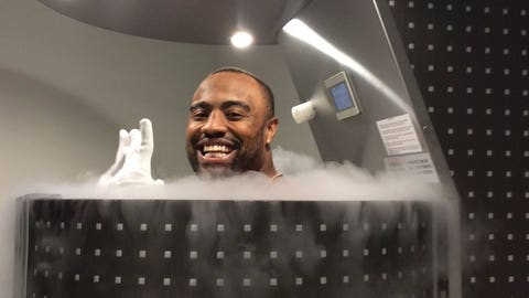 Halo Cryotherapy (via Everson Griffen)