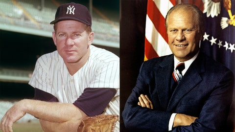 Whitey Ford / Gerald Ford
