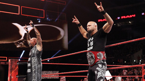 A kickoff show tag team extravaganza