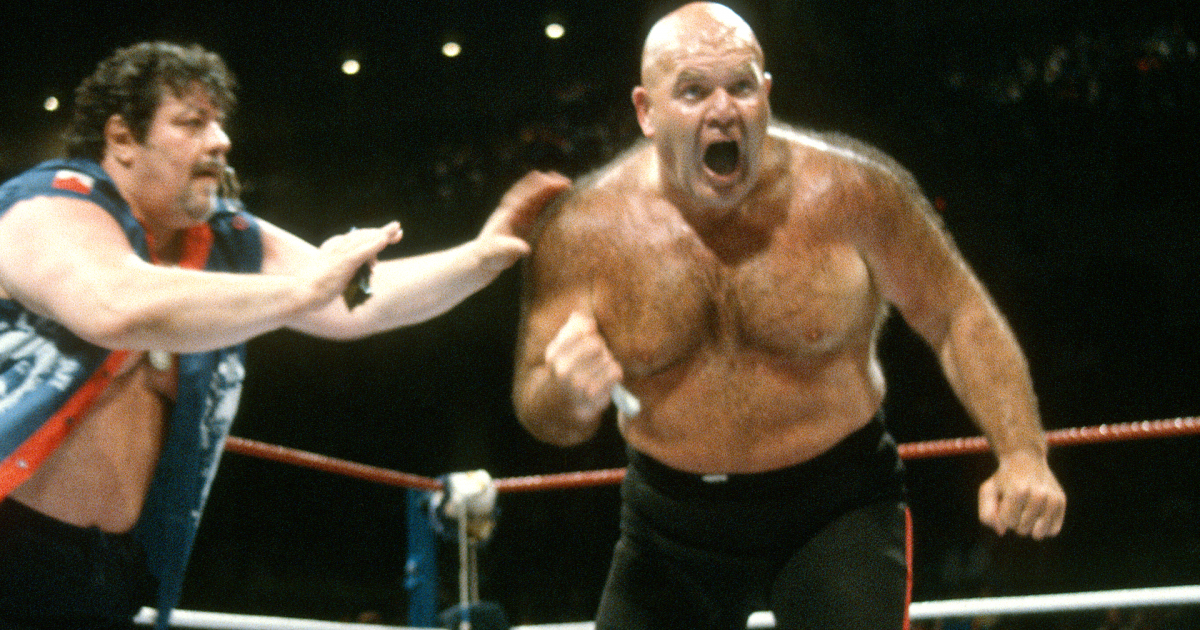 Wwe Hall Of Famer George The Animal Steele Dies At 79