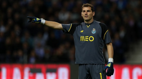 Iker Casillas - 168 appearances