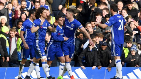 Conte's Chelsea > Mourinho's title winners - Hazard