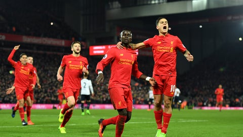 Liverpool remain their best against the best