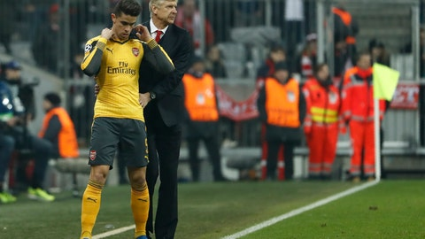 It all fell apart with Koscielny's injury