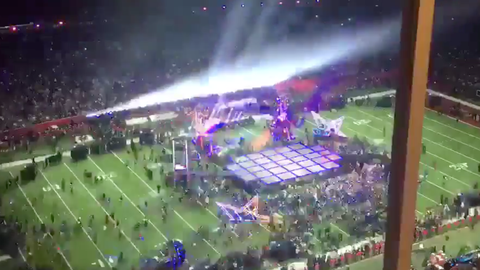 Super Bowl LI: Half-time show with Lady Gaga