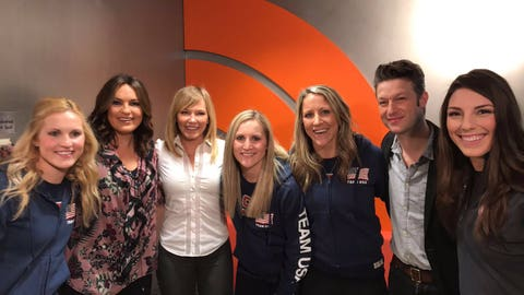 Hilary Knight, Team USA and ex-Badgers forward