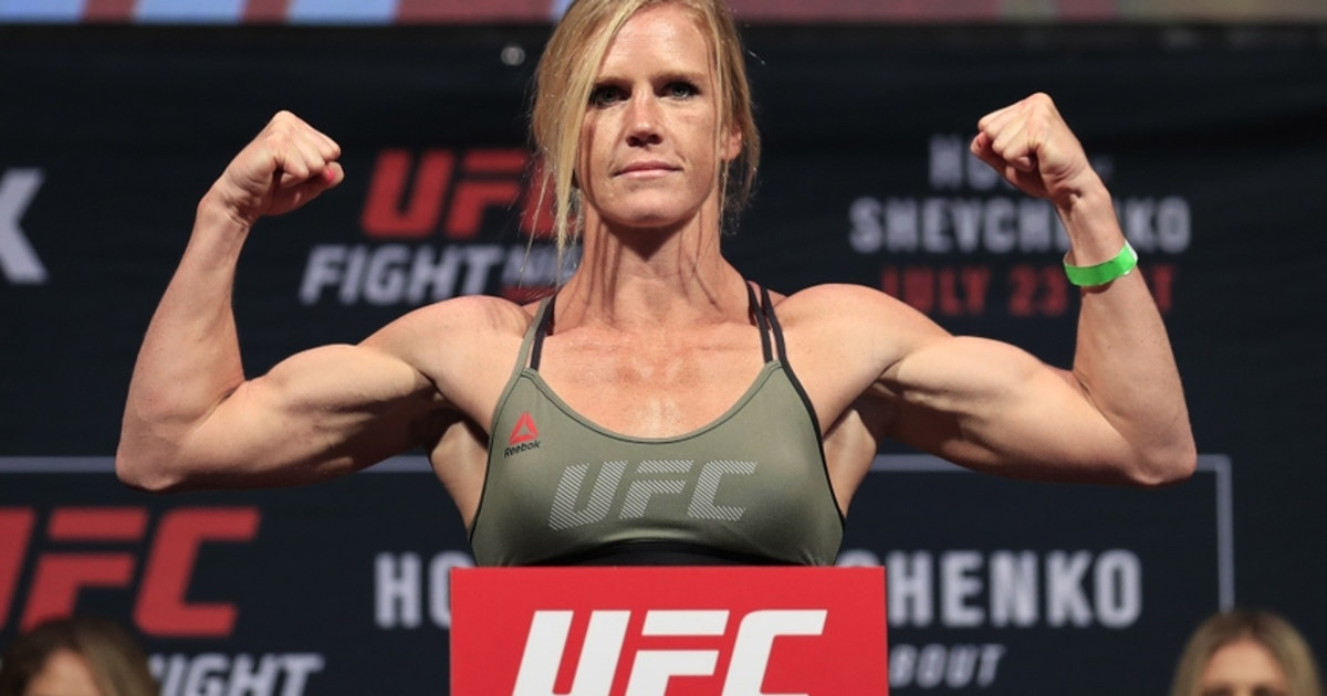 Watch the UFC 208: Holm vs de Randamie weigh-in live