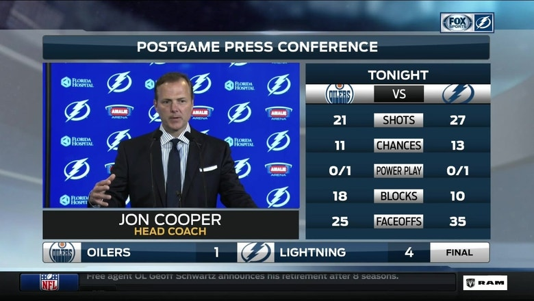 Jon Cooper: 'We've really turned up our physical game'