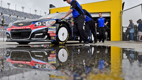 Cars roll through inspection