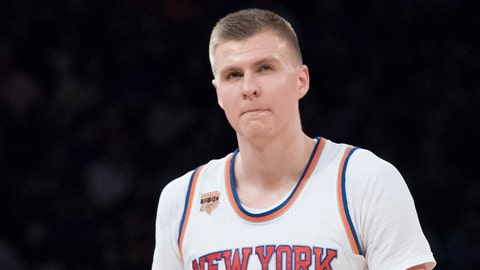 Kristaps Porzingis, PF, New York Knicks