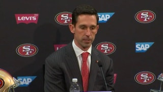 The 49ers gave new head coach Kyle Shanahan some time to grieve Super Bowl loss