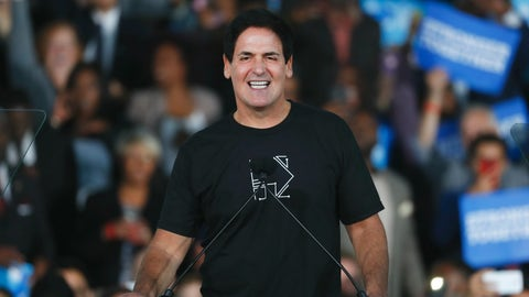 Trump says Mark Cuban not smart enough to run for presiden