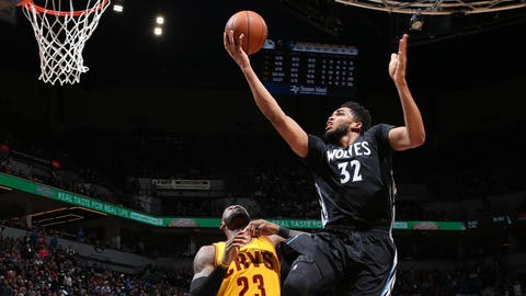 Most Valuable Player: Offense -- Karl-Anthony Towns