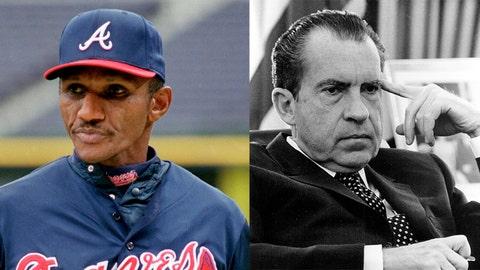 Otis Nixon / Richard Nixon