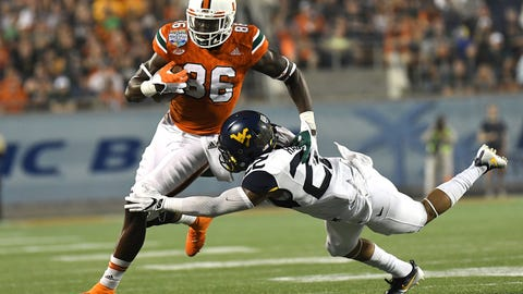 Denver Broncos: David Njoku, TE, Miami