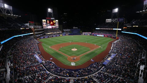 SAN DIEGO, CA - APRIL 22:  General view during the game between the St. Louis Cardinals and the San Diego Padres at Petco Park on Friday, April 22, 2016 in San Diego, California. (Photo by Alex Trautwig/MLB Photos via Getty Images)