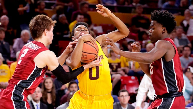 Graham's 3-point barrage lifts Sun Devils past Stanford