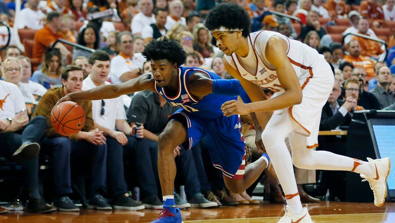 Kansas beats Texas 77-67 to clinch sole possession of Big 12 title