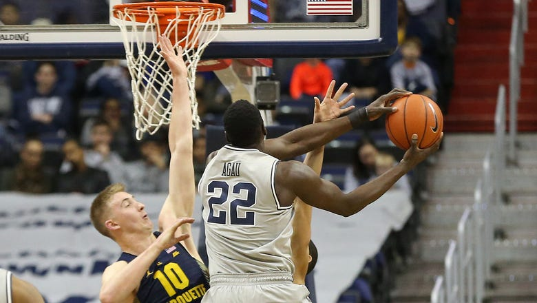 Marquette falls behind early, loses at Georgetown