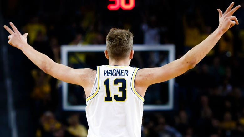 Wagner's 21 points help lift Michigan over No. 11 Wisconsin