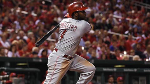Cincinnati Reds trade three-time all-star Brandon Phillips to Atlanta Braves