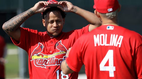 Carlos Martinez and Yadier Molina