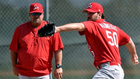 Derek Lilliquist and Adam Wainwright