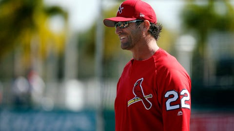 Manager Mike Matheny