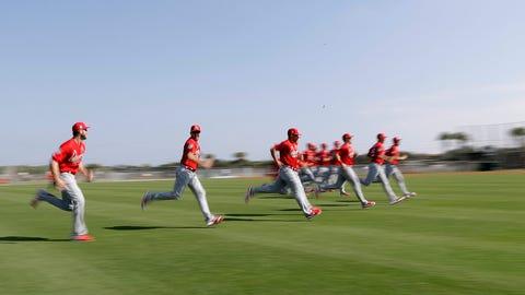 Cardinals running
