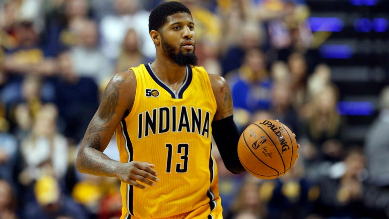 George gets back to work with Pacers as trade rumors swirl