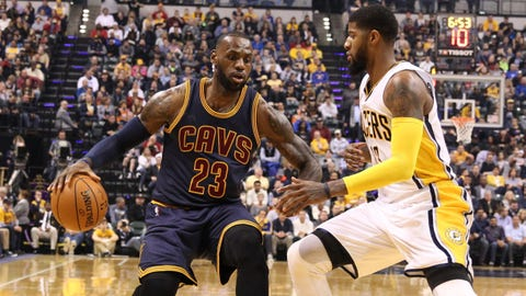 Cleveland Cavaliers down Pacers in National Basketball Association