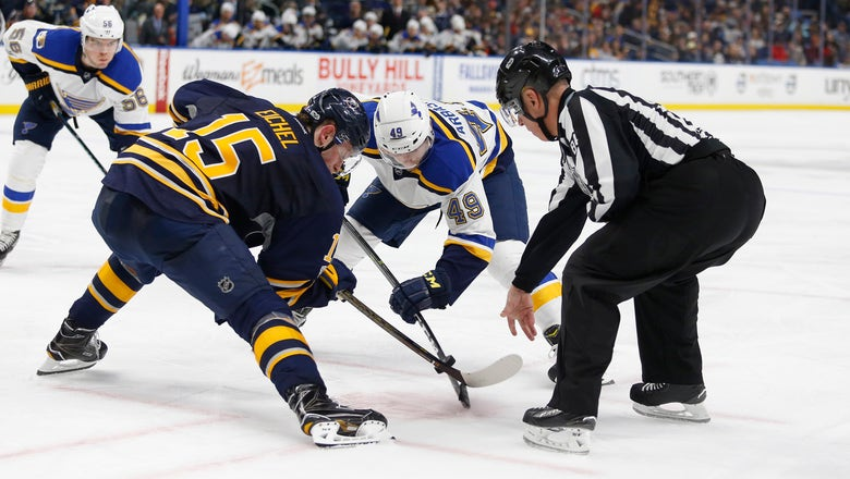 Blues recall Barbashev from Wolves