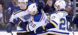 Blues riding high into matchup against struggling Red Wings