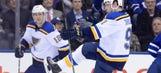 Tarasenko scores game-winner in OT as Blues beat Maple Leafs